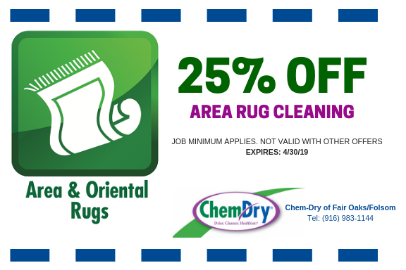 rug cleaning fair oaks coupon