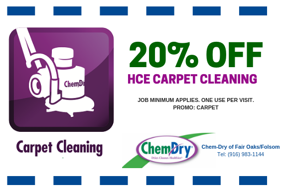 carpet cleaning fair oaks coupon